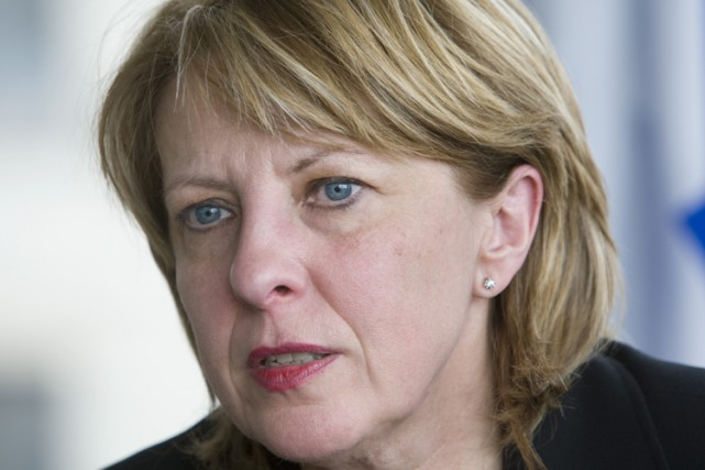 La ministre de la Culture, Christine St-Pierre... (Photo: Robert Skinner, La Presse)