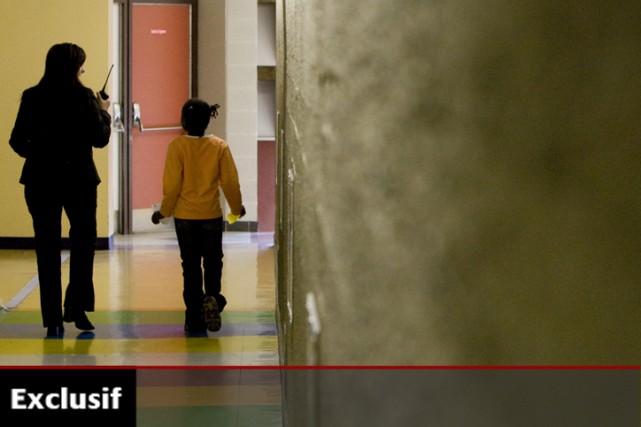 En milieu scolaire, les orthophonistes évaluent les difficultés... (Photo: Ivanoh Demers, archives La Presse)