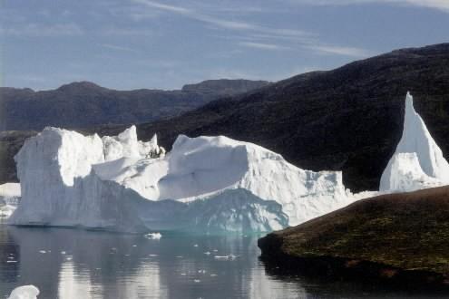 La fonte des glaces du Groenland et de l'ouest de l'Antarctique, une des ... (Photo: Marie Tison, La Presse)