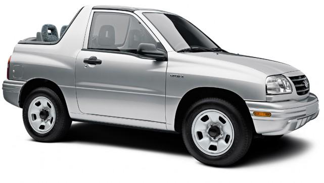 Suzuki Vitara 2002... (Photo fournie par Suzuki)