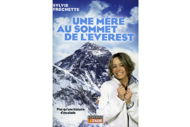 Le 21 mai 2008, l'alpiniste Sylvie Fréchette (ne pas confondre avec la nageuse...