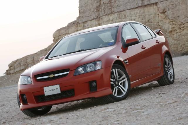 La Pontiac G8 est vendue au Moyen Orient... (Photo GM)