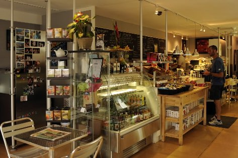L'intérieur du café Cafellini, à Saint-Bruno... (Photo: Bernard Brault, La Presse)