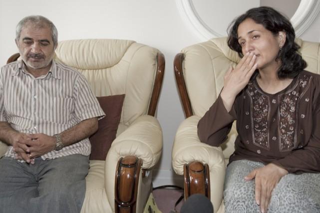 Mohammad Shafi, sa femme, Tobba Yahya, ainsi que... (Photo: PC)