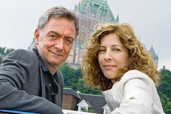 Avec l'expérience, Michel Marc Bouchard, ici en compagnie... (Le Soleil, Laetitia Deconinck)