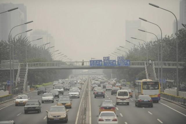 Un indice quotidien de la qualité l'air a... (Photo AFP)