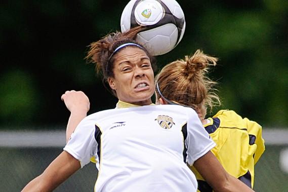 L'attaquante Mélissa Lesage a été la joueuse de... (Photothèque Le Soleil)