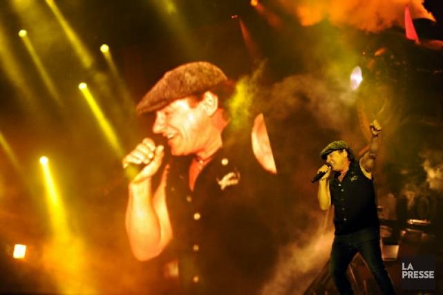 AC/DC se produira à Québec le 28 août.... (Photothèque La Presse)