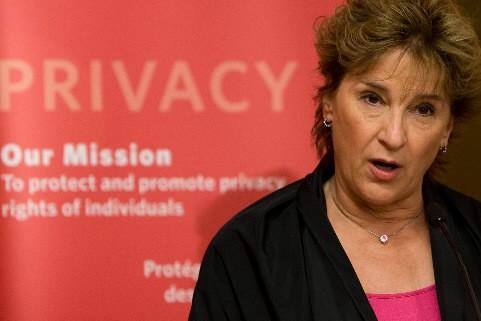 La commissaire à la vie privée, Jennifer Stoddart.... (Photo Presse Canadienne)