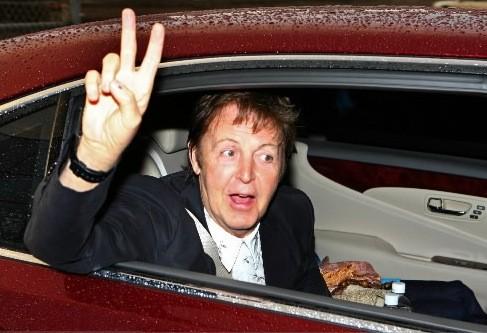 Paul McCartney à Québec en 2008... (Photothèque Le Soleil, Laetitia Deconinck)