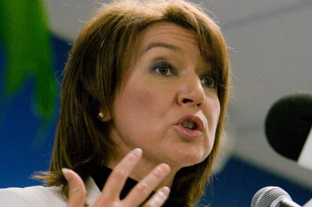 La ministre des Ressources naturelles, Nathalie Normandeau.... (Photo: André Tremblay, Archives La Presse)