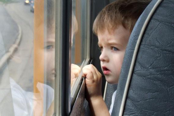 Le premier jour dans l'autobus scolaire signifie souvent... (Photothèque Le Soleil)