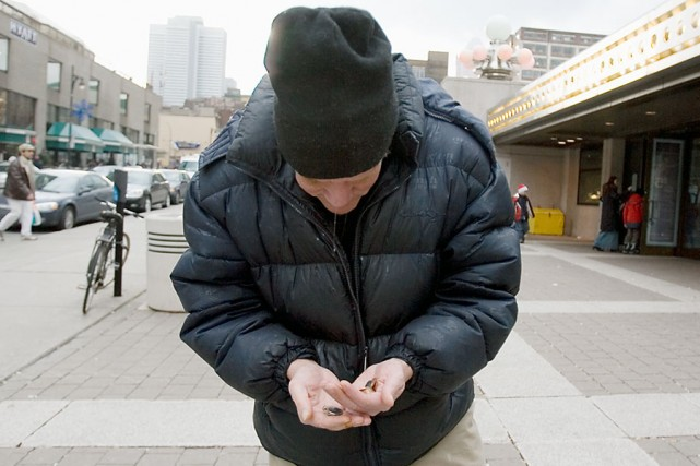Depuis quelques années, les refuges montréalais pour sans-abri ont subi une... (Photo: Martin Tremblay, Archives La Presse)