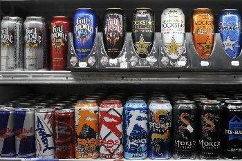Des boissons énergisantes... (Photo: Bernard Brault, La Presse)