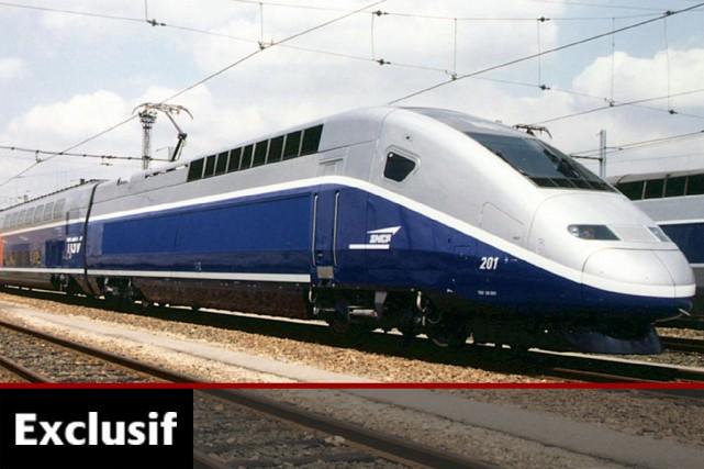 Un TGV de la SNCF, en France.... (Photo: Archives La Presse)