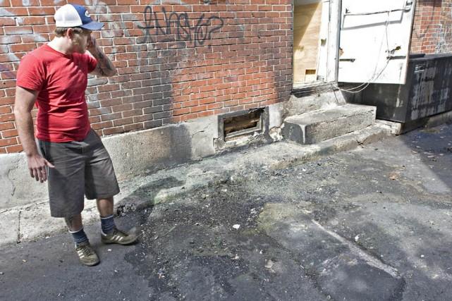 Trois incendies mineurs sèment l'émoi dans les ruelles... (Photo: Patrick Sanfaçon, La Presse)
