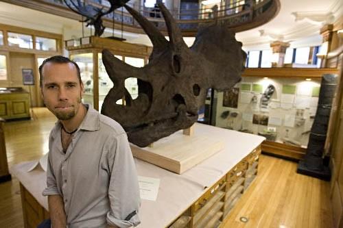 Le paléontologue Hans Larsson.... (Photo: François Roy, Archives La Presse)