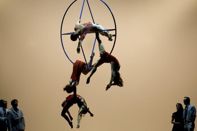 Le Cirque Éloize compte parmi les invités québécois... (Photo: André Pichette, archives La Presse)