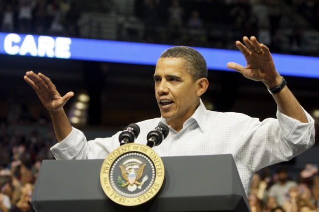 Barack Obama fait les frais d'une campagne de... (Photo: AP)