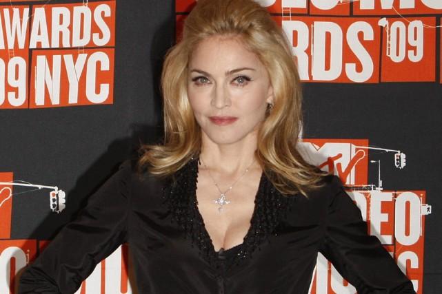 Madonna... (Photo: Reuters)