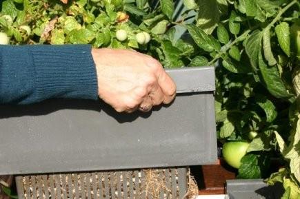 Le Biotop est composé de deux paniers avec... (Photo: www.jardinierparesseux.com)