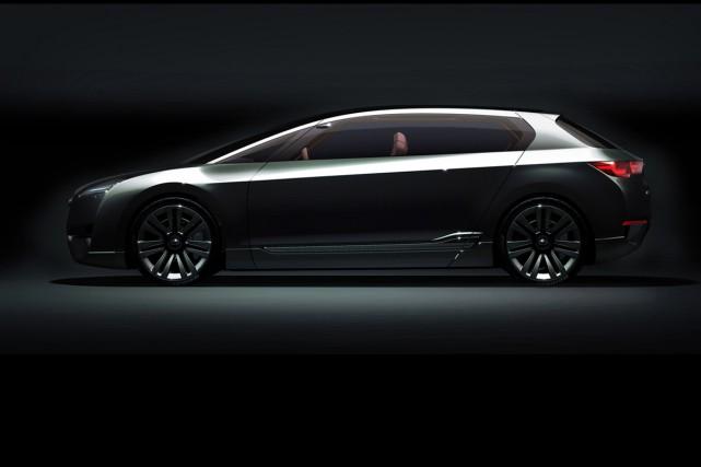 La Subaru Hybrid Tourer.... (Photo Autoblog.com)