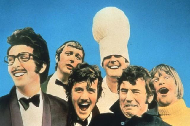 Les Monty Python à l'époque de leur série...