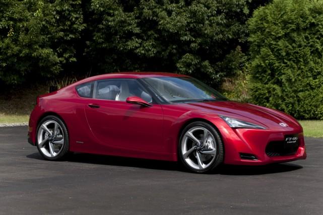 Le coupé sport concept FT-86 sera présenté au... (Photo Toyota)