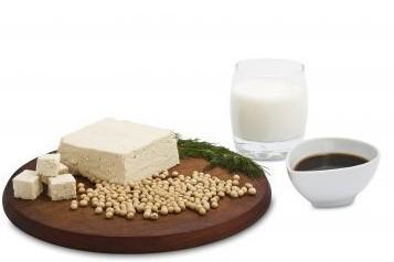 Des produits du soja...