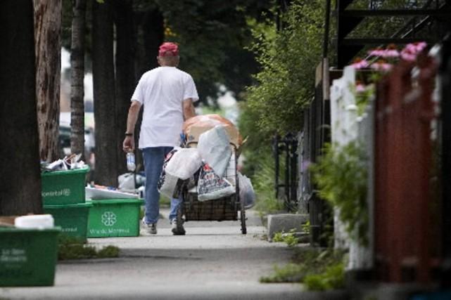 Chaque jour, dans les rues de Montréal, des... (Photo archives La Presse)