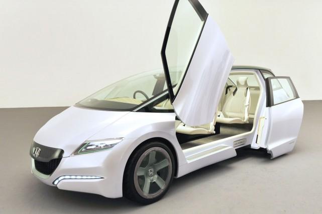 Le prototype Honda Skydeck.... (Photo AFP)