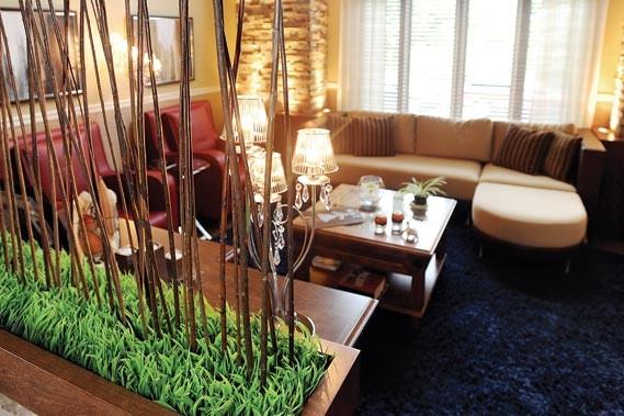 Modernit zen pour int rieur familial lise fournier maison - Separation salon salle a manger ...