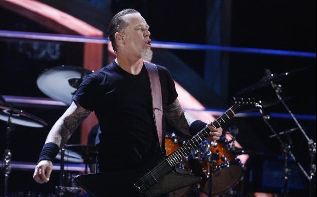 Metallica se produisait hier, à New York, à... (Photo Reuters)