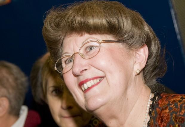 Pauline Quinlan était tout sourire à l'annonce de... (photo Stéphanie Mantha)