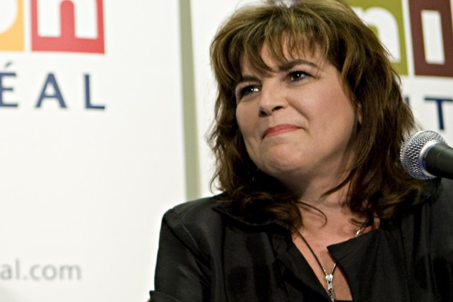 Diane Lemieux... (Photo: François Roy, La Presse)