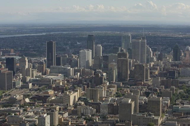 La Ville de Montréal va construire quatre nouveaux bassins de rétention, au... (Photo: David Boily, Archives La Presse)