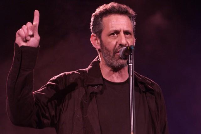Le chanteur et leader du groupe The Box,... (Photo: Robert Skinner, La Presse)