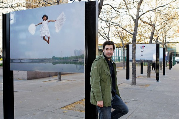 Manuel Bujold, l'un des fondateurs du Mouvement art... (Photo Robert Mailloux, La Presse)