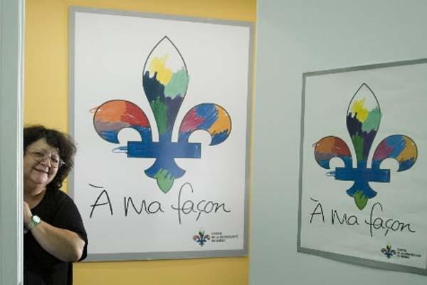 Hélène Pedneault a co-fondé l'organisme «Eau Secours» en... (Photo: Ivanoh Demers, La Presse)