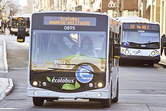 Un des neuf bus électriques du RTC...