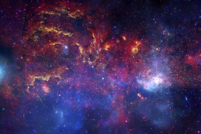 La Voie Lactée... (Photo: AFP/Nasa)