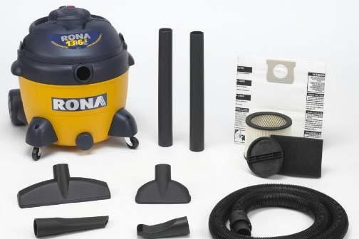Un aspirateur souffleur pour d chets secs et humides yves perrier les bons outils - Quelle puissance pour un aspirateur ...