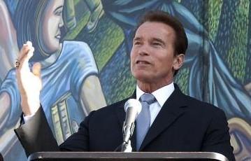 Arnold Schwarzenegger s'est donné comme ultime mission d'amener... (Reuters)