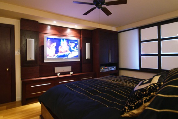 cin ma maison une salle de projection chez soi gilles. Black Bedroom Furniture Sets. Home Design Ideas