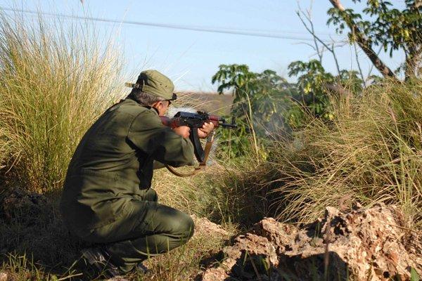 En clair, tous les réservistes de la force... (Photo AFP)