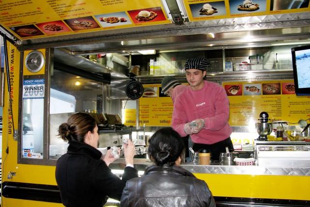 Montréal a dit non à la cuisine de rue dans les années 60. Dommage. Car... (Photo: Marie-Claude Lortie)