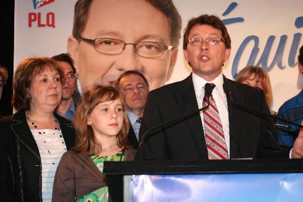Jean D'Amour s'est retiré du caucus libéral, il... (Photo: Marc Larouche, Le Soleil)