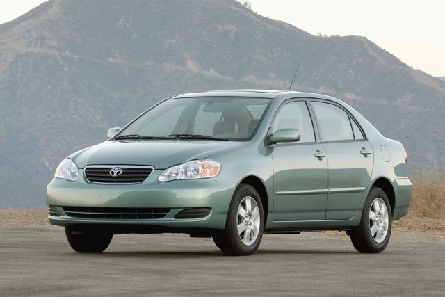 La Toyota Corolla 2006.... (Photo Toyota)