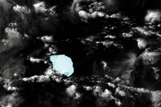L'iceberg a été repéré grâce à des images... (Photo: AFP)