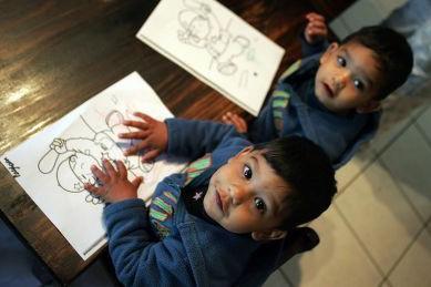 Séparer ou non les jumeaux à l'école, un dilemme fréquent pour les parents, n'a... (Photo: AFP)